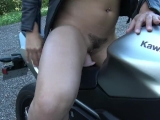 Hot French Teen Squirting On Her Motorcycle - Chaude Motarde Vic Alouqua