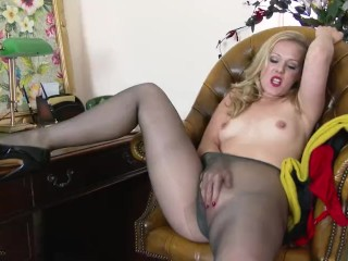 Women Getting Ass Licked Fucking, Aston Wilde- Do the Deal Blonde Masturbation MILF Striptease