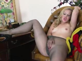 Women Getting Ass Licked Fucking, Aston Wilde- Do the Deal Blonde Masturbation MILF Striptease