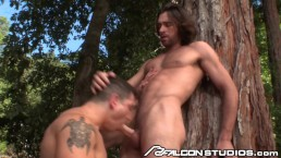 FalconStudios Woody Fox has Cock Worshiped