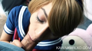 Little Sailor Girl Gives Up Her Ass  ass fuck cam girl kawaii girl homemade cosplay one mouth cumshot dsl young hardcore drilled costume teenager facial