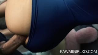 Little Sailor Girl Gives Up Her Ass