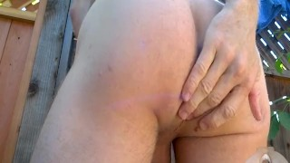 With ass a outdoors stretching inch his bearing ball off gape