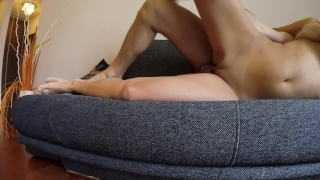 Morning sex with funny end porno