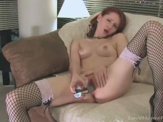Turk ifsa sex fishnet stockings and a hot masturbating act lovehomporn masturbate adu