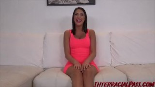 August Ames takes the BIGGEST Black Cock she ever had!  big cock bbc interracialpass canadian hardcore cock sucking dredd interview big boobs natural tits massive black cock big black dick monster cock