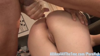 Cute Teen Miranda Miller Gets Ass Filled with Cum! Redhead hardcore