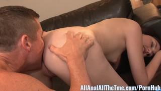 Cute Teen Miranda Miller Gets Ass Filled with Cum!