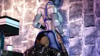 Blue Star Episode 1 Mass Effect Aardvarkianparadise