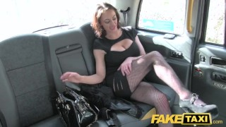 Cash fucks for lady fake taxi street cabbie tits huge