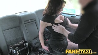 Fake Taxi Street lady fucks cabbie for cash Pussy outdoor