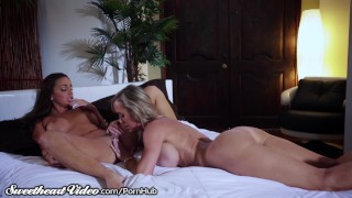 Sweetheart Brandi with Abigail's Intense Chemistry  big tits older younger lesbians mom blonde pornstar milf lesbian mother big boobs scissor tribbing girl on girl sweetheartvideo trib scissoring