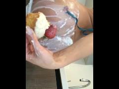 Lana rhoades anal food play