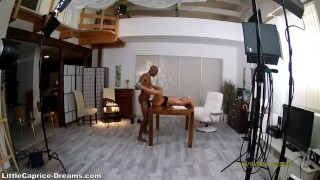 Black Cock fuck me first time ever Little Caprice Backstage