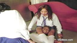 Schoolgirl catfight