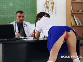 Private.com - Trainee Nurse Cassie Fire Rides Her Teacher