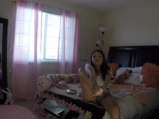 Preview 3 of Sami Parker Caught On Hidden Camera By Her Stepbrother
