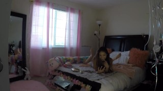 Sami Parker Caught On Hidden Camera By Her Stepbrother  voyeur masturbation step siblings caught sami parker native american teen hot native american asian teen masturbate voyeur young stepsister teenager petite teen step sister voyeur sister asian amateur