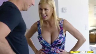 Preview 2 of Reality Kings - Dirty blonde milf Alexis Fawx gets pounded in the bathroom