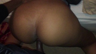 Fucking this thick bitch upstairs at a party
