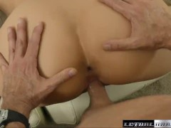 Teen Sami has her tight pussy filled with cum