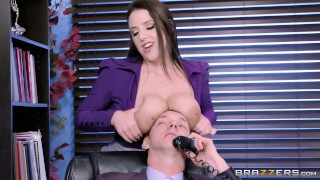 Brazzers - Angela the horny Office Slut  big cock natural australian thick brazzers hardcore squirting office secretary big naturals brunette rough slut orgasm big boobs natural tits work fantasy huge tits