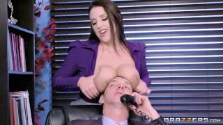 Angela the horny Office Slut Brazzers