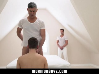 MormonBoyz-Secret temple sex ritual caught on tape
