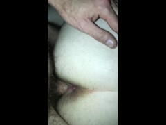 Kinky milf ass fucked hard and her tight pussy full of cum