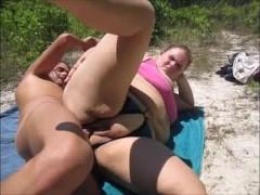 Sexy Bitch Takes Pussy Creampie Outside Sideways POV Orgasm & Doggystyle