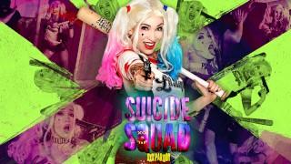 Suicide Squad XXX Parody Aria Alexander as Harley Quinn