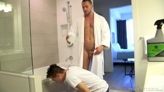Daddy Hans Berlin makes Twink Get Dirty!