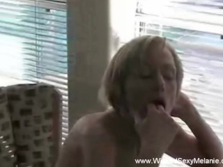 Stripping And Camming For Her Son