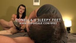Donella's Sleepy Feet - www.c4s.com/8983/17509036