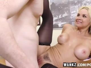 Tiny sluts.com wankz- busty blond sarah vandella seduces young employee wankz busty bl