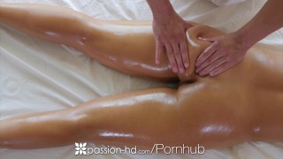 Oiled with brunette layla massage busty passionhd london fuck up drilled passion