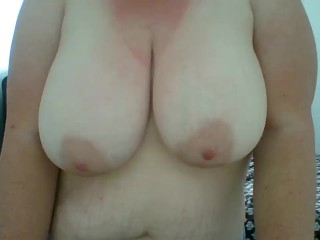 Boob Tease/Play - Cum on my Tits Vid Preview - Juniper Steele