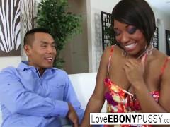 Ebony hottie Imani Rose is always down to fuck