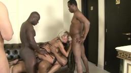 Old Big Tit Cougar Gets Gangebanged By Monster black Cocks