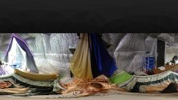 Hidden cam Interactive Massage Summer studio HD 4K 360 VR
