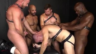 RR Wet n Raw Daddy Gangbang!