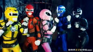 Power Bangers: A XXX Parody Part 5 - Brazzers