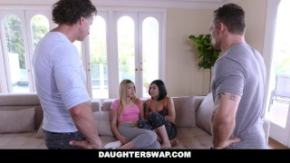 DaughterSwap - Dads fuck the lesbian out of their daughters  alexa raye tiffany jade big tits dads blonde cumshot hardcore smalltits brunette shaved daughterswap bigcock facialize facial doggystyle fake tits daughter