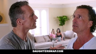 DaughterSwap - Dads fuck the lesbian out of their daughters  alexa raye tiffany jade dads blonde cumshot hardcore smalltits daughter shaved daughterswap bigcock facialize facial doggystyle