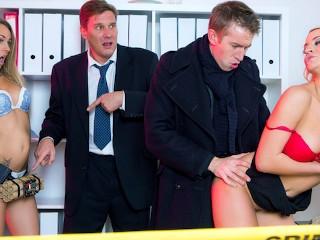 Sherlock A XXX Parody Episode 3 - Blonde brit Sienna Day takes big cock