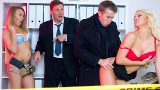 Sherlock A XXX Parody Episode 3 Blonde brit Sienna Day takes big cock