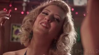Bartender Cherry Torn Seduced By Stripper Nikki Darling X hardcore