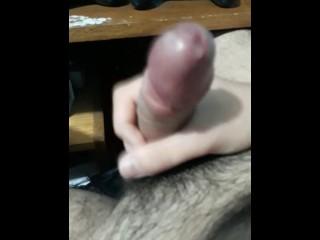 Handjob cum