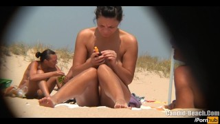 Hd young video nudist at naked tanning beach hot the voyeur milfs beach spy