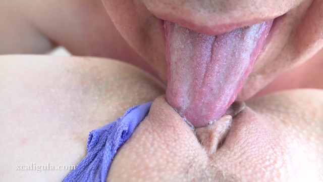 Women with big clits nude Milf needs a quickie orgasm creampie - clit licking close up / amateur